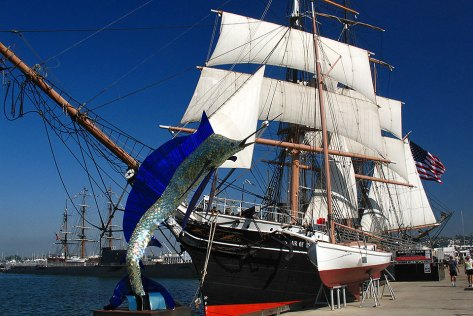 the Star of India at San Diego's Maritime Museum