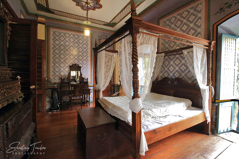 a bedroom at the Villavicencio Wedding Gift House