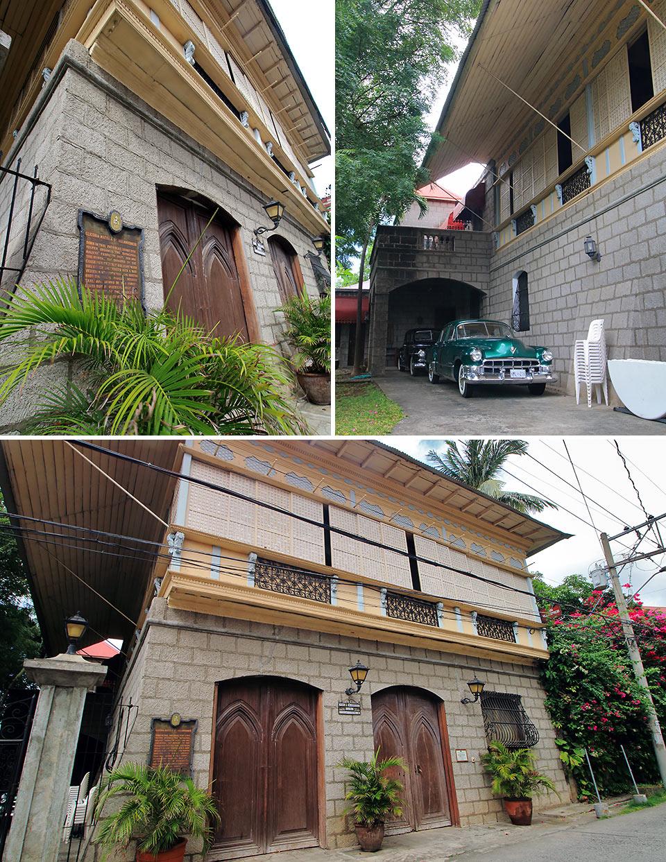 the Casa Villavicencio, Calle Gliceria Marella, Taal Heritage Town