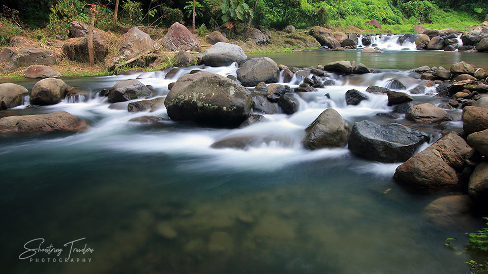 cold stream at Dalitiwan Resort