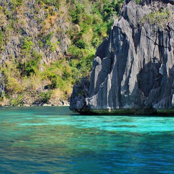 karst formations, Coron, Palawan
